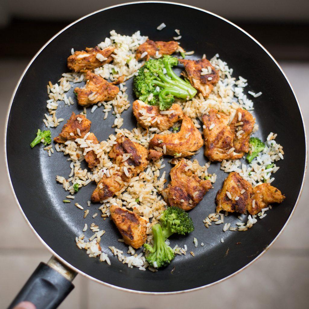 tandoori masala pollo riso